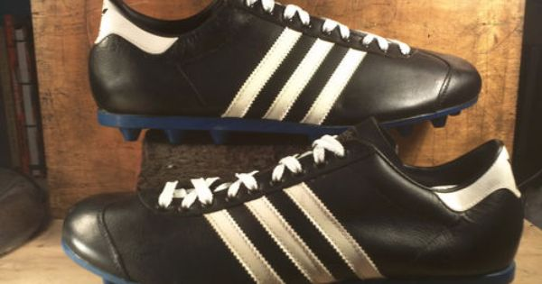 Vintage Contact Adidas Soccer Cleats 1970s Made In France Nos Deadstock Ebay Vintage Adidas Chuteiras