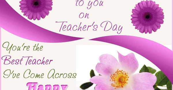 Heartiest Wishes To You Dear On Teachers Day Happy Teachers Day Wishes Teachers Day Wishes Happy Teachers Day