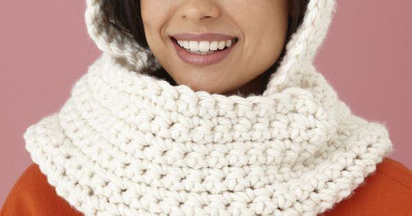 Free Crochet Hooded Scarf Pattern Free Crochet Pattern ...