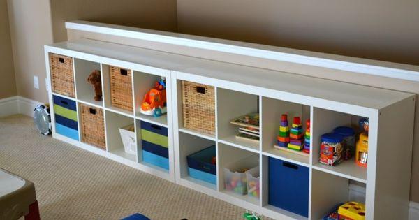 meuble de rangement de salle de jeux d 39 enfant ikea salle de jeux pinterest salles de jeux. Black Bedroom Furniture Sets. Home Design Ideas