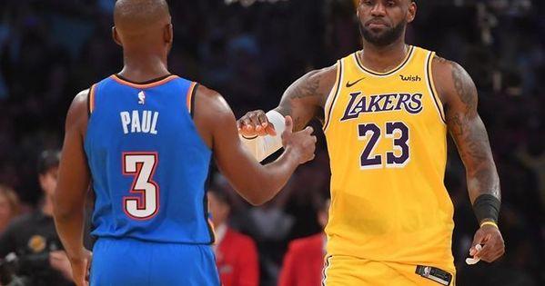 La Lakersla Nba Teamslakerslakers Playerslos Angeles Lakerslonzo Ball Oklahoma City Thunder Vs Los Angeles Lak In 2020 Oklahoma City Thunder Los Angeles Lakers Lakers