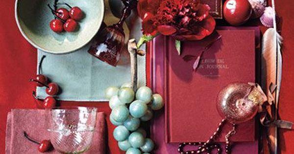 Color palette. Accessories