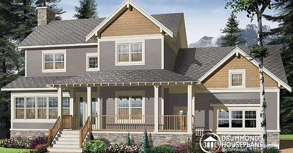 Craftsman Home Plan 3 Bedrooms Solarium Office And Side