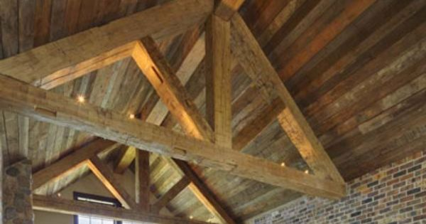 Find this Pin and more on Reclaimed wood ceilings. - 42 Best Reclaimed Wood Ceilings Images On Pinterest