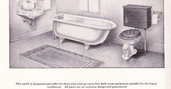 1915 bathroom catalog 1910 39 s pinterest catalog for 1915 bathroom photos