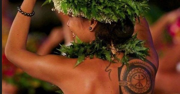 hula dancer motivation to tone my back mostly because i love her tattoo and now i want to get. Black Bedroom Furniture Sets. Home Design Ideas