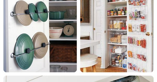 7 clever storage ideas for a small kitchen cocinas for Cocinas chiquitas