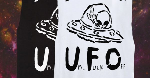 UFO  Punk fashion and Aliens on Pinterest