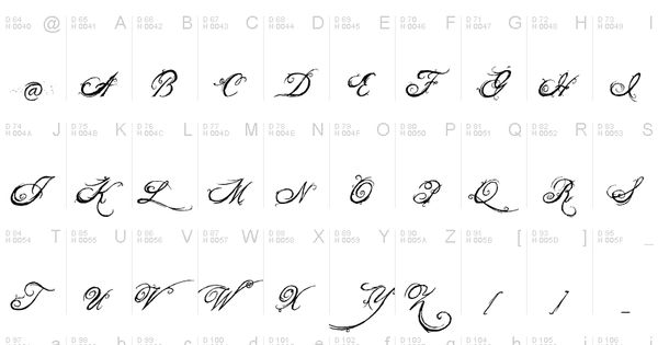 The king queen font calligraphy pinterest