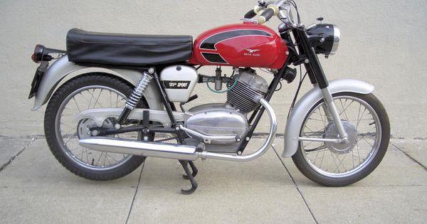 1966 Moto Guzzi Stornello 125 Sport Frame no. T65GP Engine