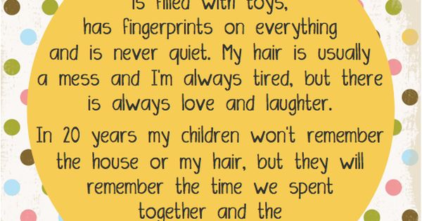 """""""My Home Is Filled With Toys, Has Fingerprints On"""