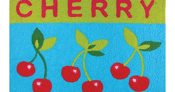 Jellybean Rugs Cherry Crate Rug Crates Cherries And