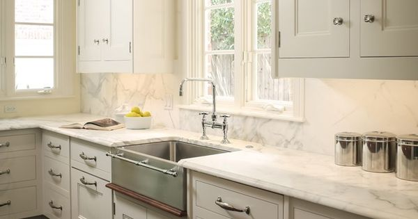 Over Counter Farmhouse Sink : Stainless farmhouse sink, Farmhouse sinks and Sinks on Pinterest