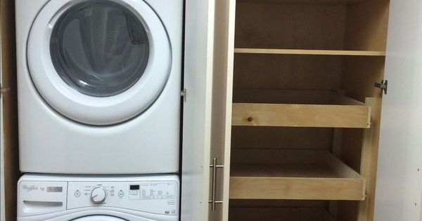 Laundry Pantry Combination Remodel Small Laundry Rooms