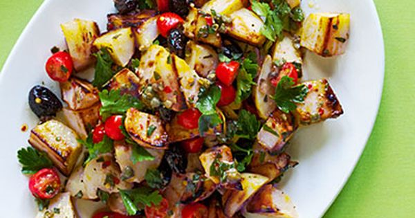 21 potato recipes (Grilled Potato Salad)