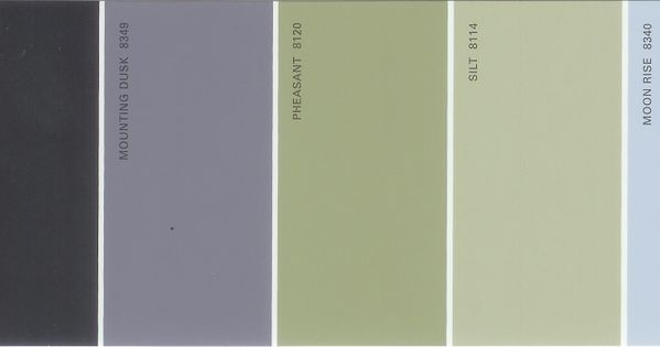 Martha Stewart Paint 5 Color Palette Card 26 Available From S