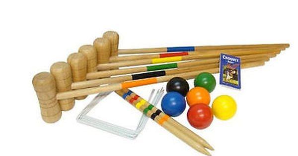 Bex Family Croquet Set 6 Player