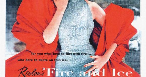 50's model Dorian Leigh -- Revlon Fire & Ice ad. | Vintage ...