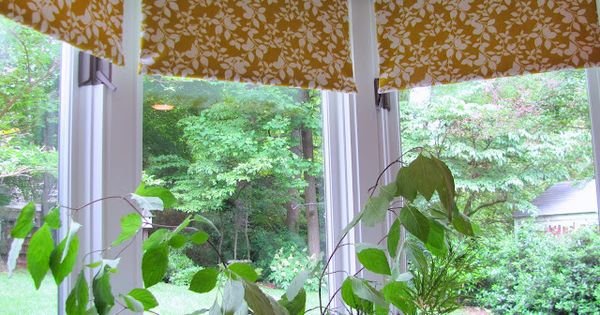 cottage and vine: Fabric Covered Roller Shades - tutorial. This for window