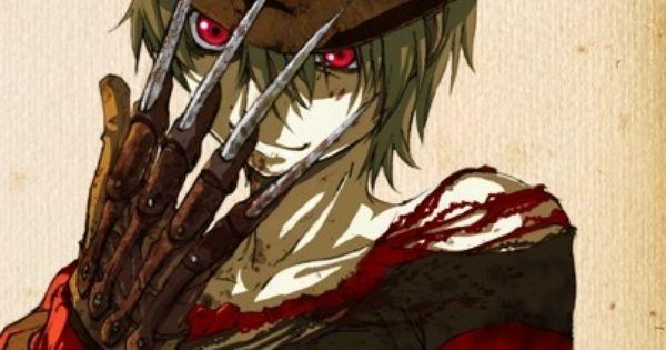 Anime Freddy Krueger   Anime Halloween Pics   Pinterest ...