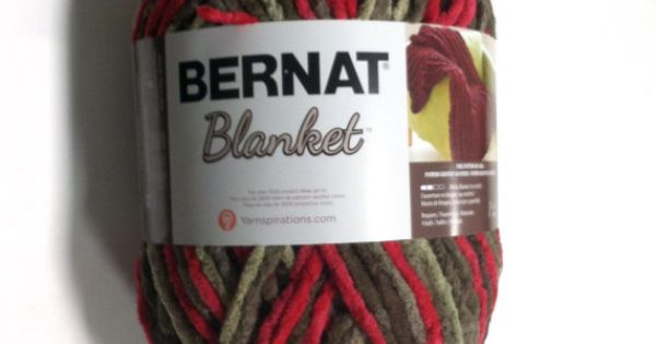 Bernat Big Blanket Yarn Raspberry Trifle Large Skein 300