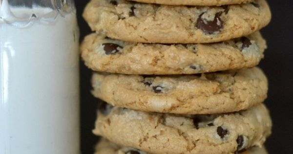 Cashew butter, Chocolate chip cookies and Chip cookies on Pinterest