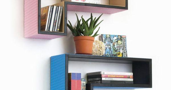 L Shaped Floating Shelves Dotandbo Com Wall Space