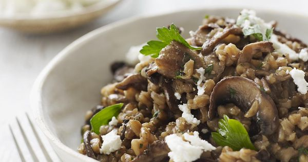 Wild mushrooms, Risotto and Mushrooms on Pinterest