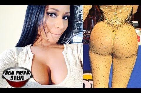 Nicki Minaj Complete Naked 119