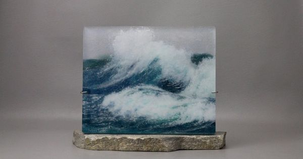 Incredible fused glass landscape and seascape designs by ...