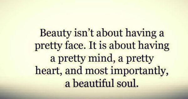Beautiful soul. truth