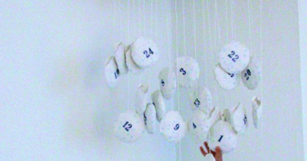 Calendario de Adviento nube - Cloud Advent Calendar by Zenzi Design