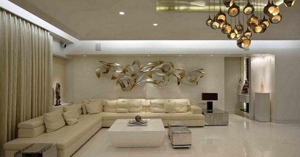 Wohnzimmer Deko Bambus Dekoration Hngelampen Eingebaut