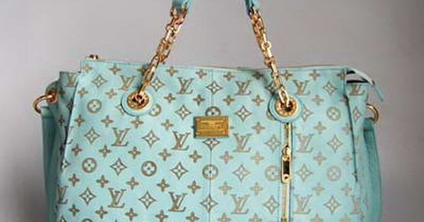 ☆ Louis Vuitton ☆ tiffany blue