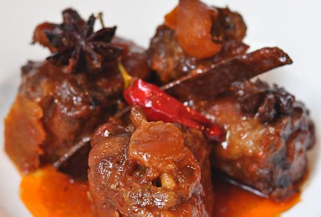 Braised Oxtail With Asian Flavours   Favorite Recipes ...