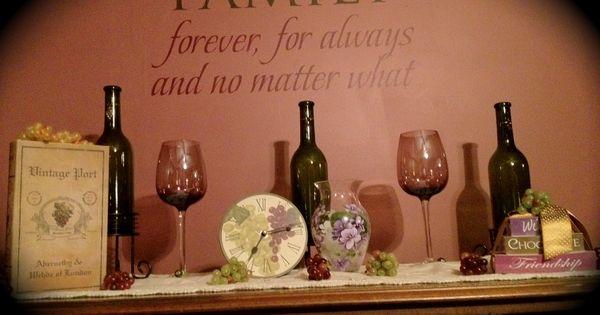Wine Themed Dining Room Wine Theme Ideas Pinterest
