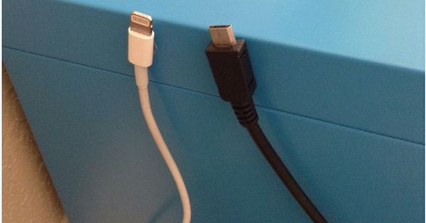 Diy Of The Week Make A Magnetic Cable Holder For Your Ikea Bedside Table Cable Holder Ikea Bedside Bedside Table