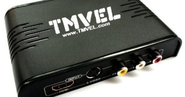 Tmvel Tmv Hd2 Hdmi Rca S Video To Hdmi 1080p 50 60 Hz Pal Ntsc Multi System Video Converter Slim Design Stunnin Adapter Plug Video Converter Graphic Card