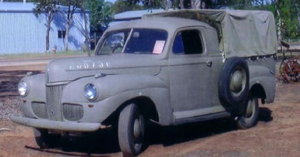 1941 ford australia ww2 ute pickup panel delivery