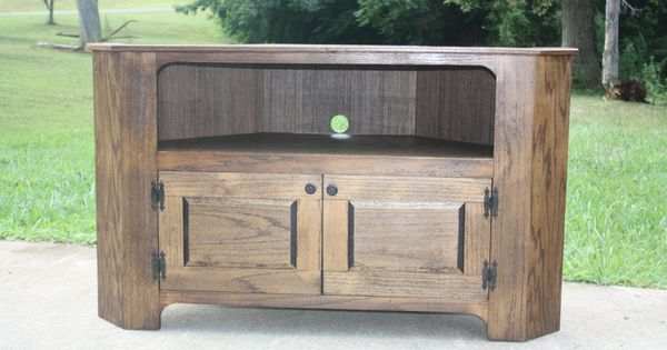 TV Stand, Corner, FREE SHIPPING, Country, Primitive