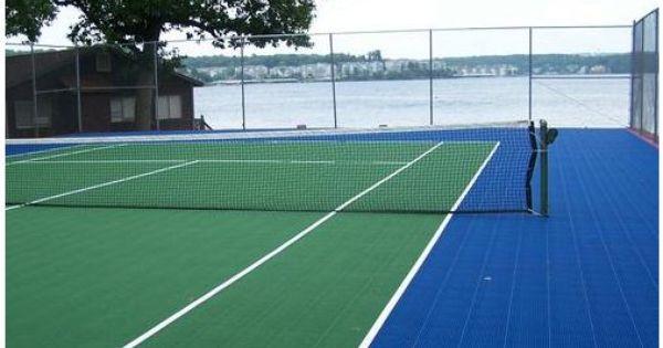 Tennis Interlocking Flooring Plastic Tile Tennis Court