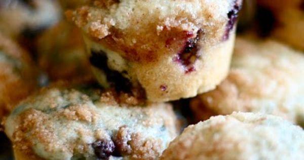 Mini Blueberry Muffins Mini Blueberry Muffins Food Recipes