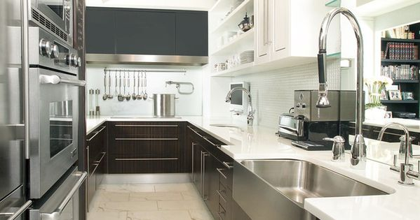 Galley Kitchen Contemporary Kitchen Toronto Arnal Photography