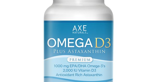 Axe naturals omega d3 with astaxanthin overall skin for Fish oil with astaxanthin