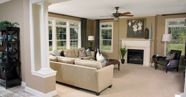 Amherst vir family room lee 39 s parke richmond american for Amherst family room