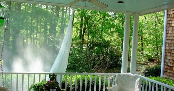 How To Install Mosquito Netting Curtains For A Deck Ehow