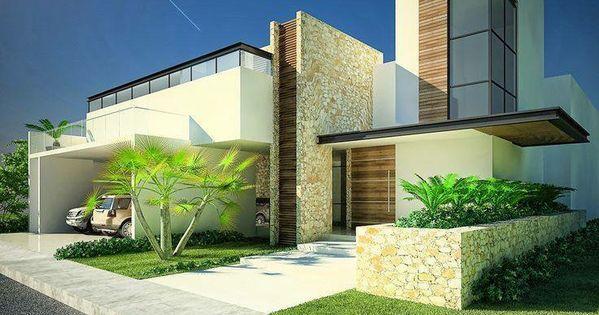 30 fachadas de casas modernas dos sonhos arquitetura for 30 fachadas de casas modernas dos sonhos