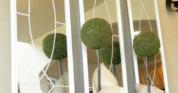 Knock off ballard designs garden district mirrors door for Ballard designs garden district mirrors