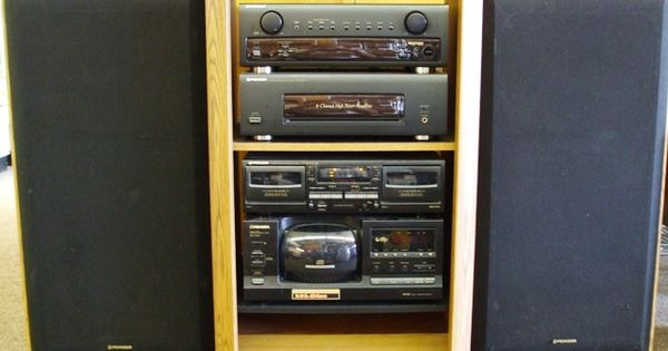 pioneer rack stereo system vintage electronics. Black Bedroom Furniture Sets. Home Design Ideas