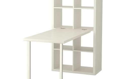 Kallax Workstation White Kallax Desk Kallax Shelf Unit